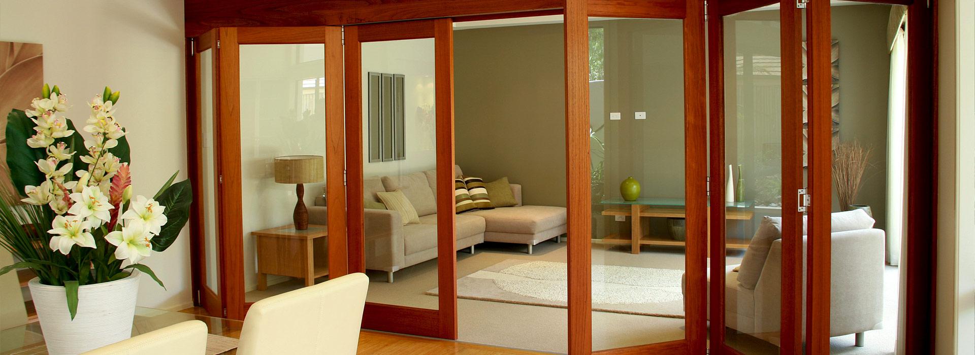 bifold doors finish