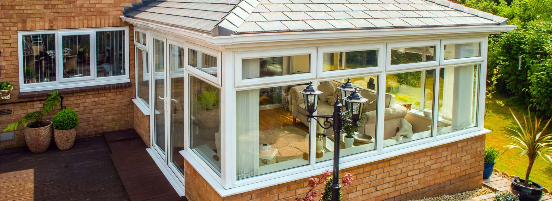 modern conservatories installed